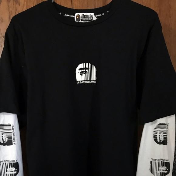 0362f3d2 Bape Shirts | A Bathing Ape Long Sleeve | Poshmark